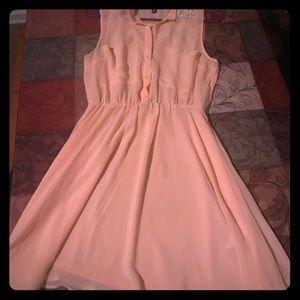 H&M light pink Dress. Size 6 Women's